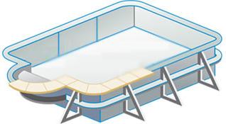 Piscine en kit piscine center for Calcul pompe piscine