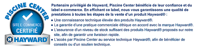 Piscine Center label Hayward
